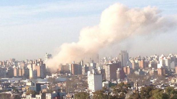 Argentina: fuerte explosión en edificio en Rosario deja al menos 30 heridos