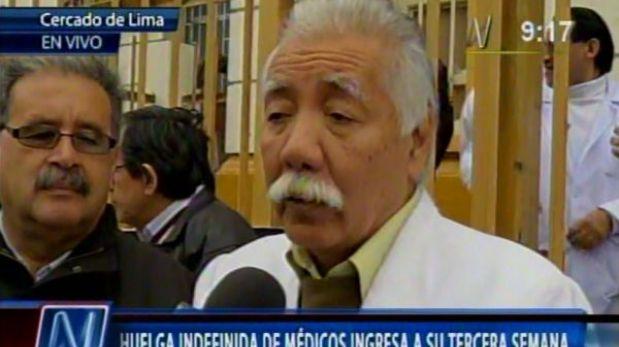 Médicos de Hospital San Bartolomé anunciaron entrega de Obstetricia y Cirugía Pediátrica