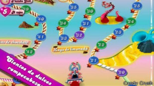 Candy Crush Saga puede ser adictivo, ¿por qué?