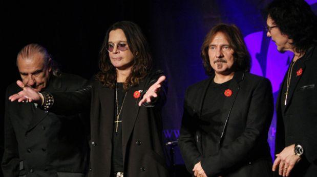 Cancelan concierto de Black Sabbath en Lima