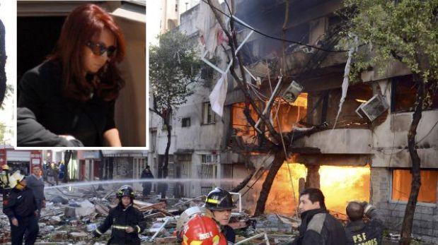 Cristina Fernández recibió abucheos al visitar zona de explosión en Rosario