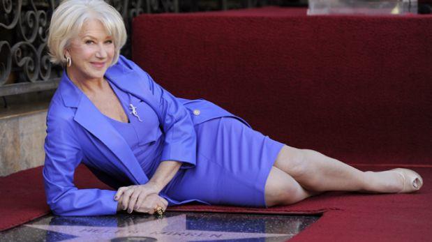 """Helen Mirren: """"Los actores peruanos son los mejores"""""""