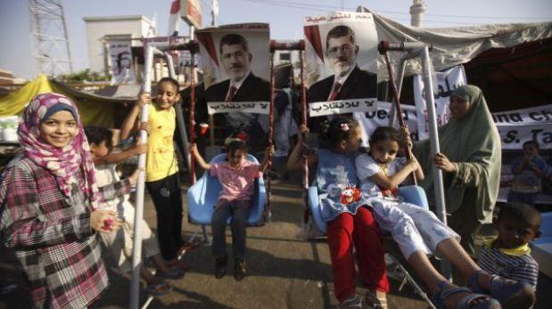 Gobierno Egipcio anunció que desalojará en próximas horas a manifestantes
