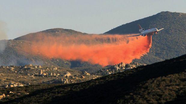 FOTOS: incendio forestal en California afecta 4 mil hectáreas y deja al menos 5 heridos