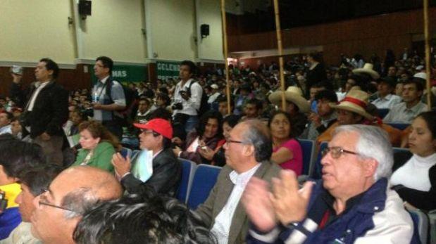 """Gregorio Santos: """"No somos una región minera, sino agrícola y ganadera"""""""