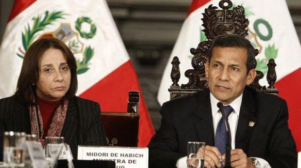 """Humala sobre huelga médica: """"Con intransigencia no se va resolver nada"""""""