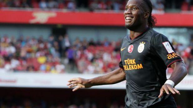 Didier Drogba le dio la Supercopa de Turquía al Galatasaray