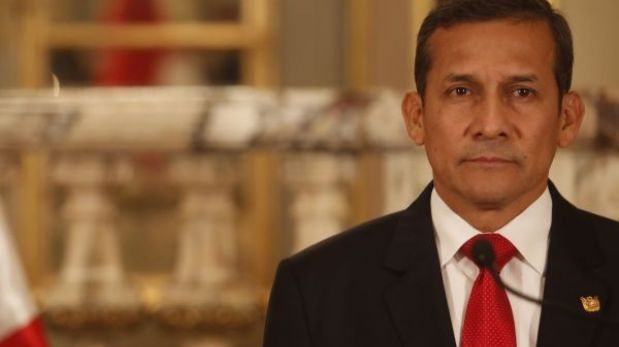 Aprobación de Ollanta Humala cayó a 35%, según encuesta de Datum