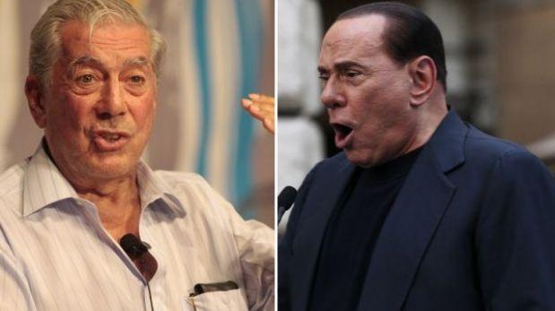 "Mario Vargas Llosa calificó de ""bufón"" a Silvio Berlusconi"
