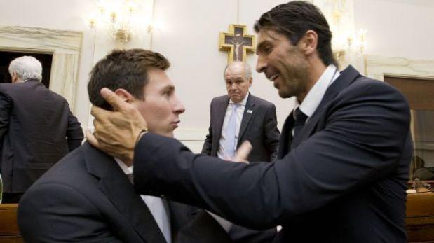 FOTOS: Lionel Messi y la selección argentina conocieron al Papa Francisco