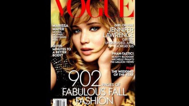 Jennifer Lawrence posó para Mario Testino
