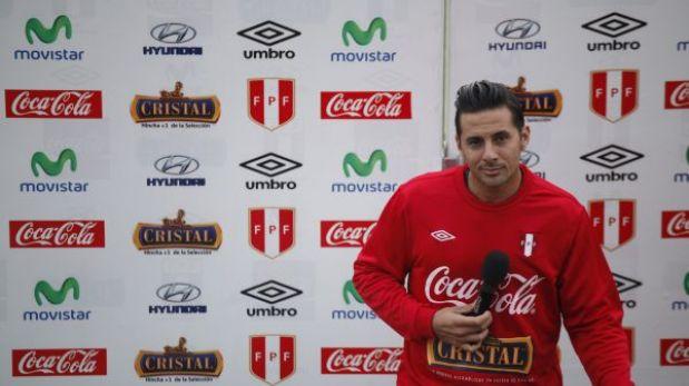"""Claudio Pizarro: """"Se pierde mucho sin Vargas y Zambrano"""""""