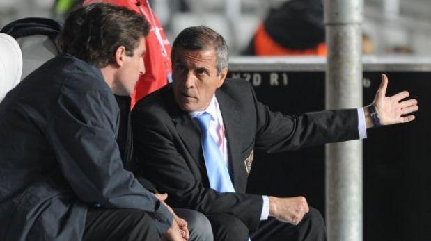Uruguay probará mañana el once que enfrentará a Perú el próximo mes