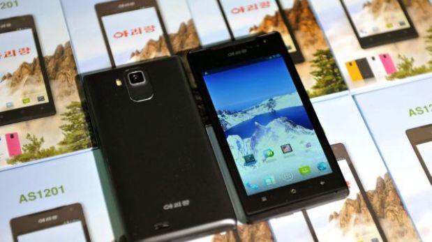 Corea del Norte presenta Arirang: su primer smartphone