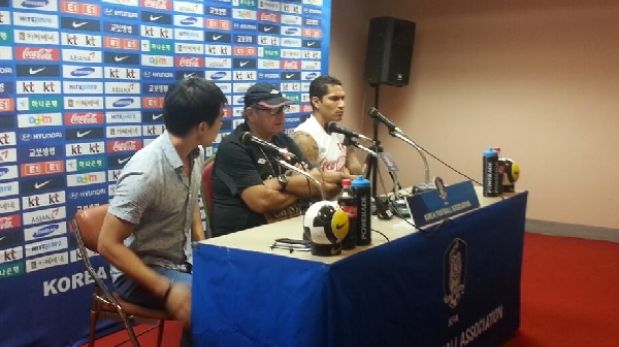 """Paolo Guerrero: """"El roce ante Corea será importante para partidos con Uruguay y Venezuela"""""""