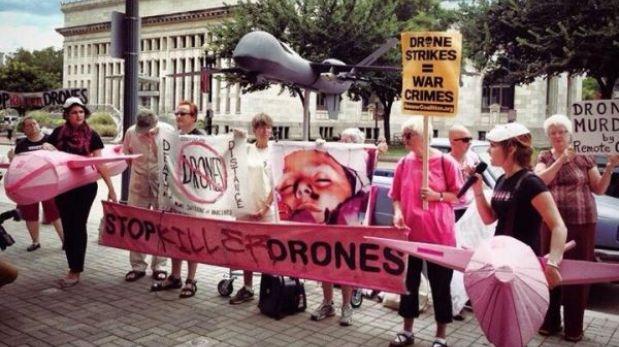 Fabricantes de drones se reúnen en EE.UU. y provocan protesta