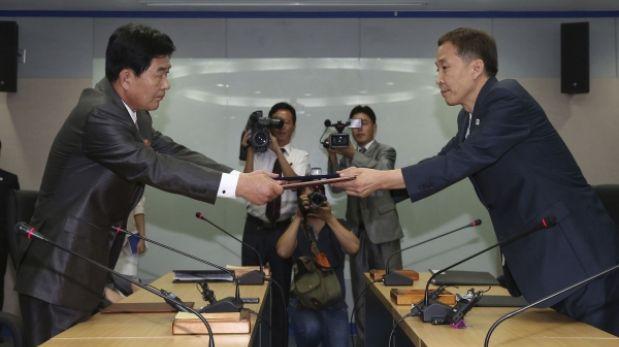 Corea del Norte y Corea del Sur lograron acuerdo para reabrir proyecto conjunto