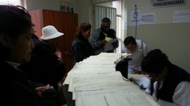 Atención en hospitales del Minsa se restablece tras suspensión de huelga médica