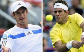 Del Potro y Andy Murray avanzan a los octavos de final de Cincinnati