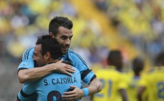 VIDEO: España derrotó 2-0 a Ecuador en partido en memoria del 'Chucho' Benítez