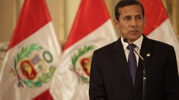 Ollanta Humala viajó a Paraguay para investidura de Cartes