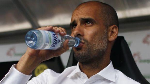 Pep Guardiola le dijo a sus dirigidos que son mejores que el Barcelona