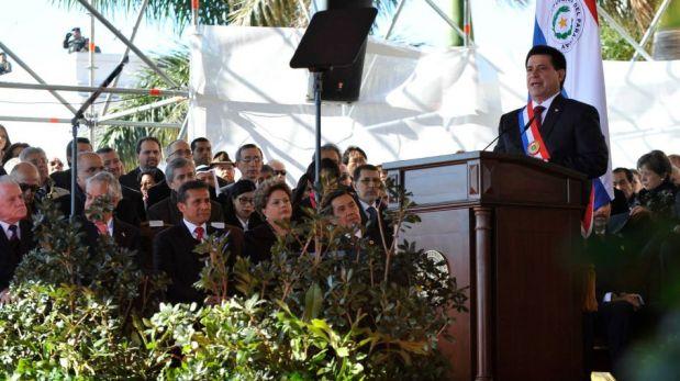 FOTOS: Ollanta Humala asistió a toma de mando de nuevo presidente de Paraguay