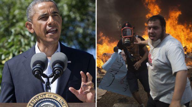"""Barack Obama afirma que Egipto """"ha tomado el camino más peligroso"""""""