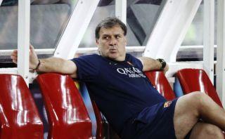 Este es el once que usará el 'Tata' Martino en su debut en la Liga española
