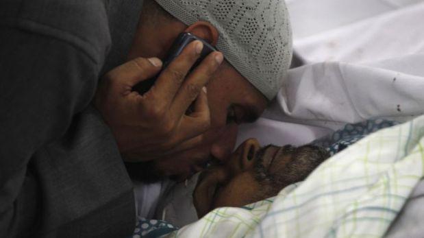 FOTOS: ira y duelo tras la matanza en Egipto