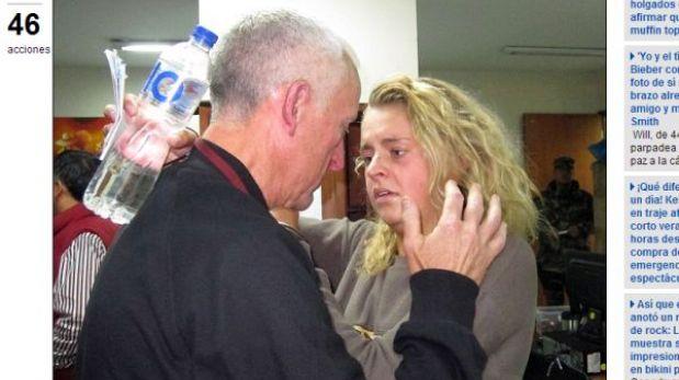 'Burrier' escocesa captada por sobrino de Phil Collins se reencontró con su padre en Lima