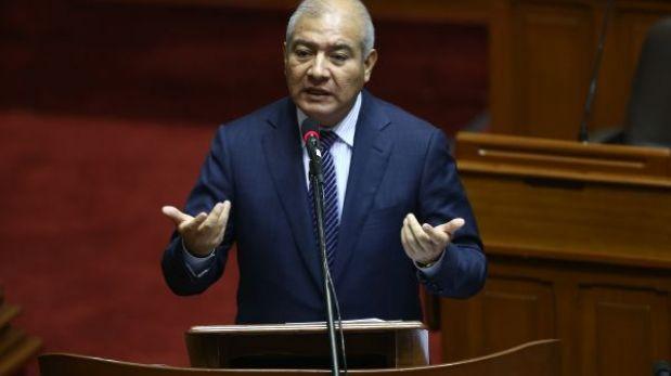 Wilfredo Pedraza convocará a ex ministros del Interior para tratar seguridad ciudadana