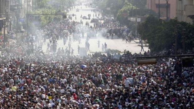 El 'Viernes de la ira' en Egipto ya deja 12 civiles muertos