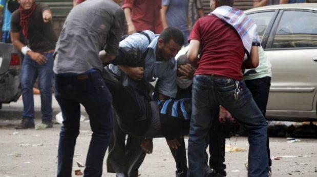 El gobierno de Egipto rechazó las críticas a la violenta represión