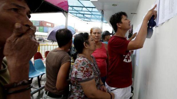 Filipinas: mal tiempo dificulta búsqueda de desaparecidos en naufragio