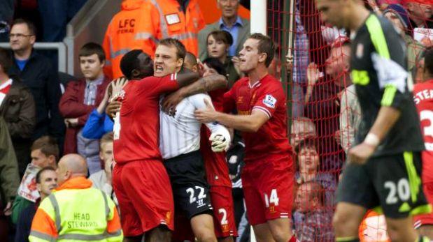 Empezó la Premier League: Liverpool ganó 1-0 al Stoke en partido sin tregua