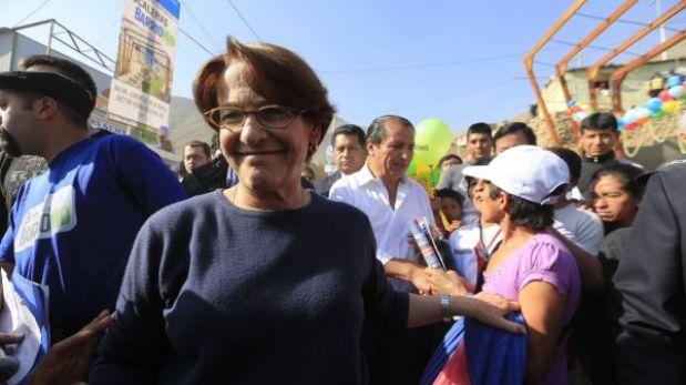 Desaprobación de Susana Villarán se mantiene en 69% en agosto