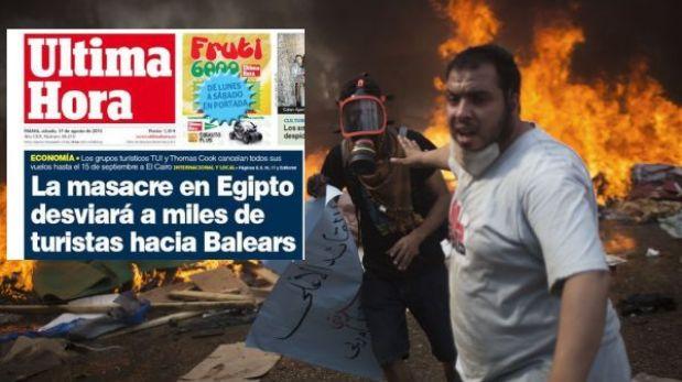 Masacre en Egipto beneficiará al turismo en España, aseguró diario
