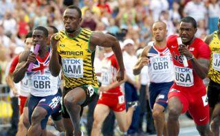 Revive la estupenda victoria de Usain Bolt en la prueba 4x100 m. [VIDEO]