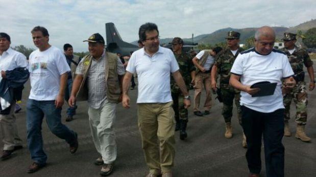 Pobladores y autoridades marchan en Pichari contra Sendero Luminoso
