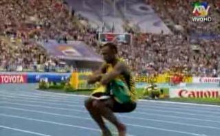 Usain Bolt festejó su octavo oro en mundiales con un baile ruso [VIDEO]