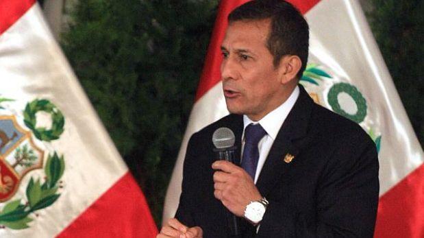 Oposición le pide a Humala hacer convocatoria para diálogo político