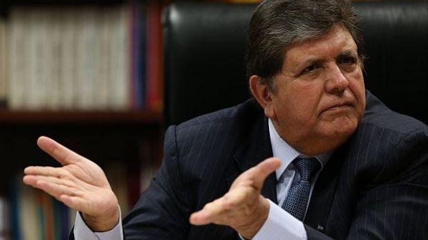 Alan García propone que su plan económico sea evaluado en diálogo con el Gobierno