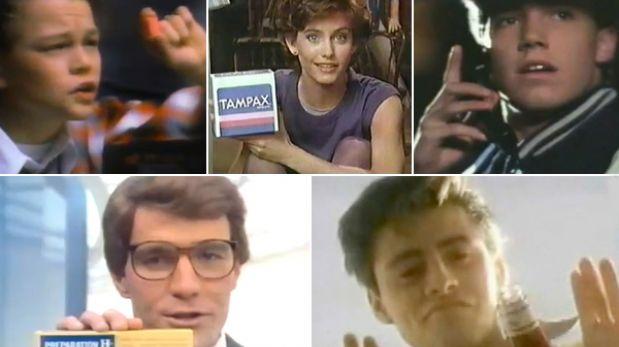 Cinco comerciales de conocidos actores antes de ser famosos