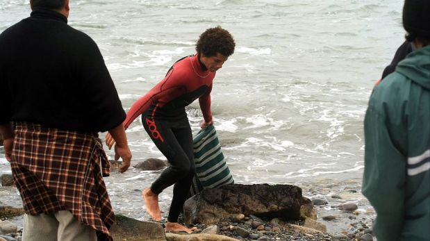 FOTOS: la dramática búsqueda de los pescadores desaparecidos en Chorrillos