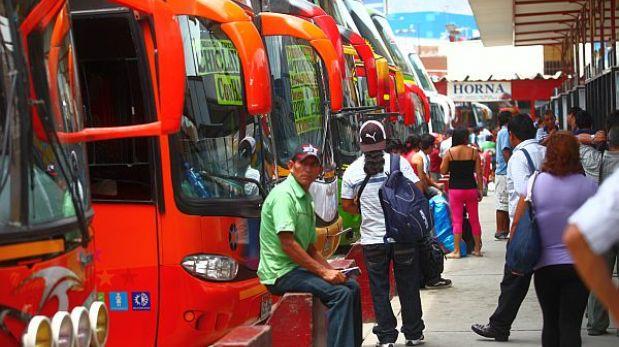 La demanda de viajes interprovinciales se incrementará 8% durante el 2013