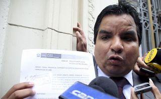 Congresista fujimorista denuncia penalmente a procurador anticorrupción Arbizu
