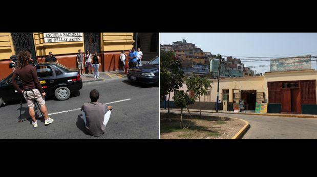 FOTOS: mira el detrás de cámaras del especial de Discovery que muestra el caótico tráfico limeño