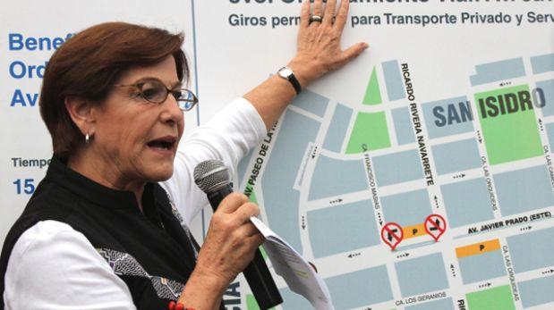 """Villarán calificó de """"estupendo"""" el informe de Discovery Channel sobre el tráfico limeño"""
