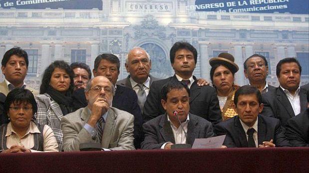 Gana Perú pide pruebas a Antezana sobre presuntos 'narcocongresistas'
